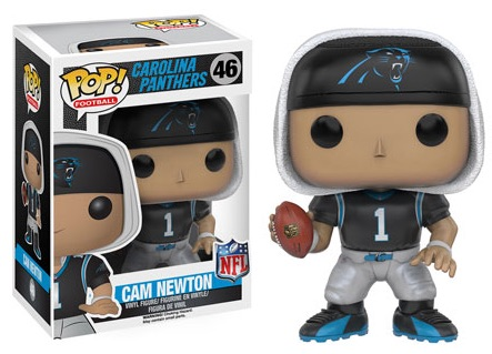 2016 Funko Pop NFL Series 3 46 Cam Newton