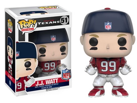 2016 Funko Pop NFL Series 3 51 JJ Watt
