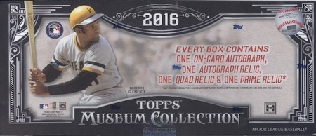 2016 Museum Collection Baseball Hobby box