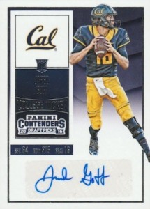 2016 Panini Contenders Draft Picks Football Variations Goff