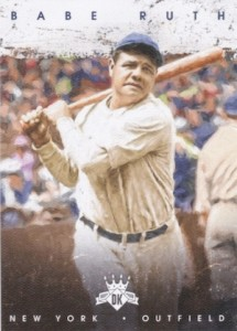 2016 Panini Diamond Kings Baseball Base Babe Ruth