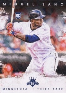 2016 Panini Diamond Kings Baseball Base Miguel Sano