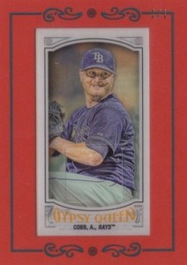 2016 Topps Gypsy Queen Baseball Cards 25