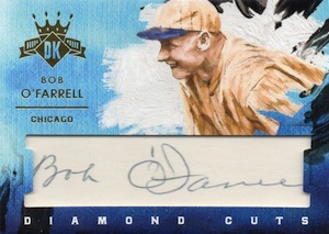 2016 Panini Diamond Kings Baseball Cuts