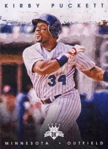 2016 Panini Diamond Kings Baseball Variations Kirby Puckett