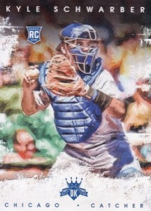 2016 Panini Diamond Kings Baseball Variations Kyle Schwarber