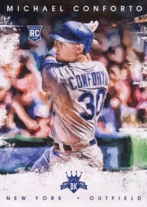 2016 Panini Diamond Kings Baseball Variations Michael Conforto