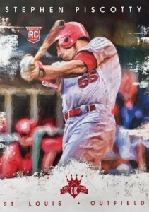 2016 Panini Diamond Kings Baseball Variations Piscotty
