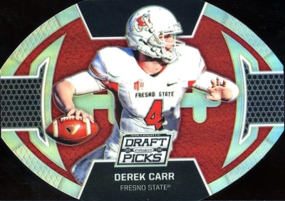 2016 Panini Prizm Collegiate Draft Picks Football Die-Cut Derek Carr