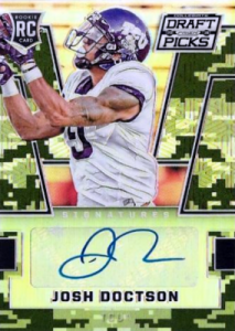 2016 Panini Prizm Draft Picks Football Draft Picks Auto Josh Doctson