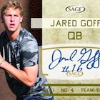 2016 Sage Autographed Football Cards