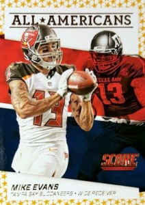 2016 Score Football All-Americans Mike Evans