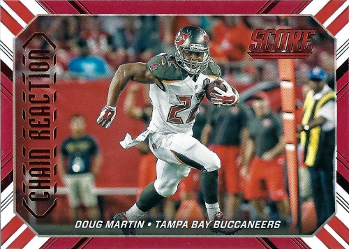 2016 Score Football Chain Reaction Doug Martin