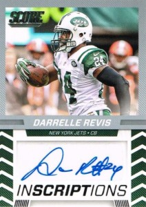 2016 Score Football Inscriptions Darrelle Revis