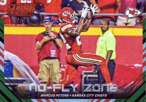 2016 Score Football No-Fly Zone Marcus Peters