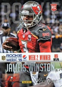 2016 Score Football Rookie of the Week:Year Jameis Winston