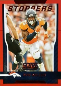 2016 Score Football Stoppers Von Miller