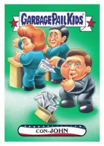 2016 Topps Garbage Pail Kids Presidential Trading Cards - Losers Update 33