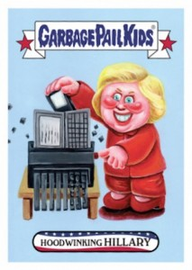 2016 Topps Garbage Pail Kids Presidential Trading Cards - Losers Update 34