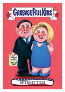 2016 Topps Garbage Pail Kids Presidential Trading Cards - Losers Update 32