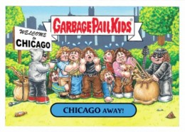 2016 Topps Garbage Pail Kids Rock Roll Hall of Shame Chicago Away