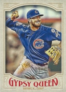 Full 2016 Topps Gypsy Queen Baseball Variations Checklist & Gallery 75