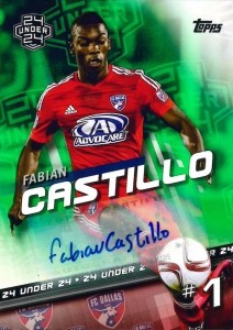 2016 Topps MLS Major League Soccer Cards 22