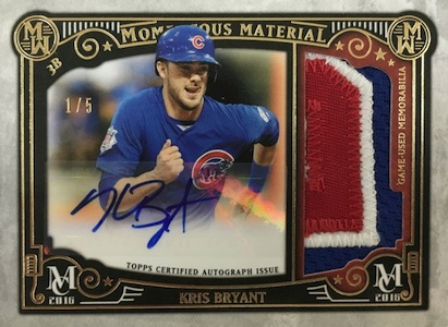 2016 Topps Museum Collection Baseball Cards - Review & Box Hit Gallery Added 33