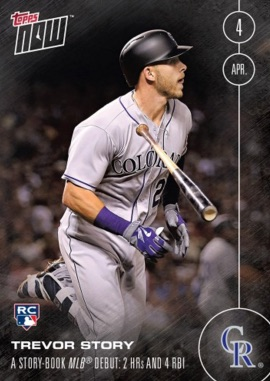 Trevor Story Rookie Cards and Key Prospect Guide 7