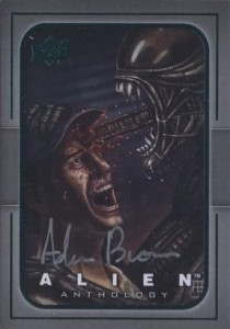 2016 Upper Deck Alien Anthology Legendary Game Artwork Autograph
