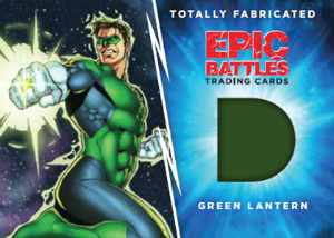 Cryptozoic Epic Battles Green Lantern Relic