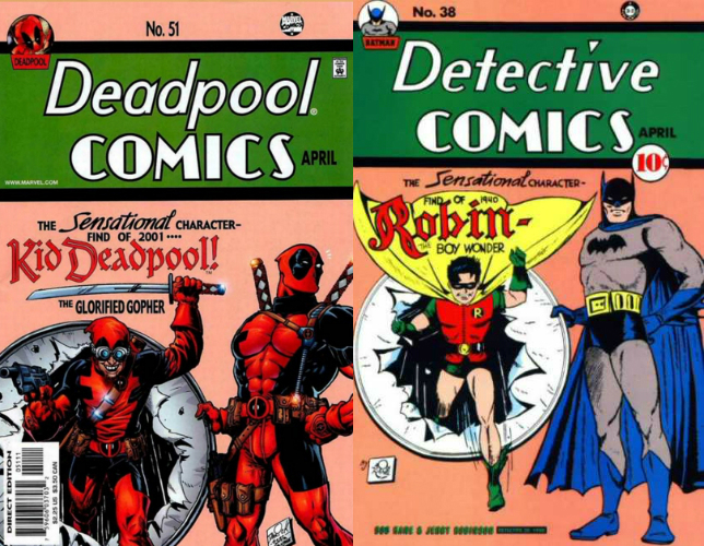 Deadpool Detective Comics Spoof