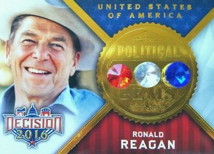 Decision 2016 Political Trading Cards - Full SP Info & Odds Added 33