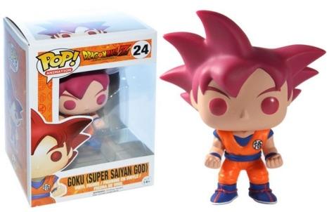 Funko Pop Dragon Ball Z Vinyl Figures 24 Goku Super Saiyan God Funimation