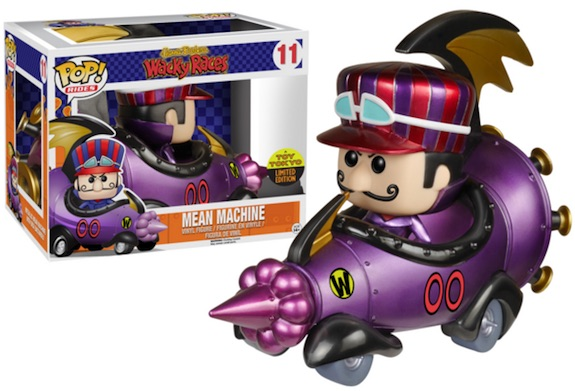 Funko Pop Rides 11 Mean Machine Metallic Dick Dastardly 2015 SDCC