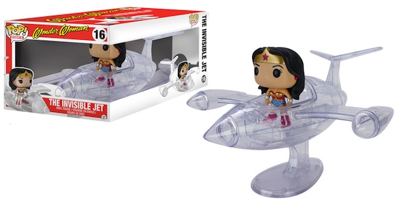 Funko Pop Rides The Invisible Jet Wonder Woman