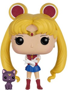 Funko Pop Sailor Moon Vinyl Figures 89 Sailor Moon Luna 1