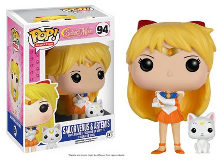 Funko Pop Sailor Moon Vinyl Figures 94 Sailor Venus Artemis