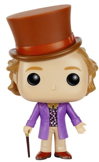 2016 Funko Pop Willy Wonka Vinyl Figures 1