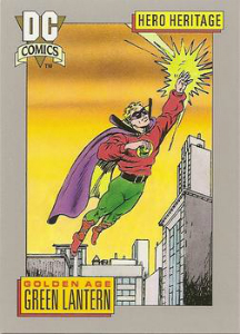 Impel Cosmic Cards Golden Age Green Lantern