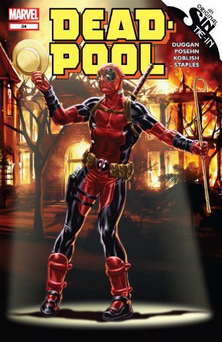 Marvel Deadpool Volume 3 Issue 34