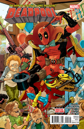 Marvel Deadpool Volume 4 Issue 2