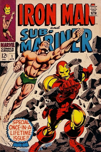 Marvel Iron Man and Sub-Mariner 1