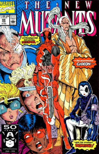 Marvel New Mutants 98 Deadpool