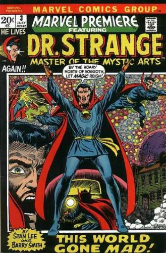 Marvel Premiere 3 Doctor Strange