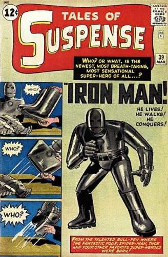Marvel Tales of Suspense 39 Iron Man