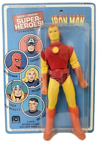 Mego Iron Man Action FIgure