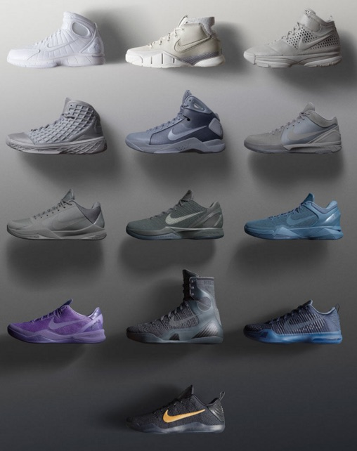 Full History and Visual Guide to Kobe Bryant Shoes 1