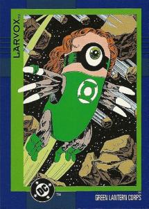 Skybox Cosmic Teams Green Lantern Corps Larvox