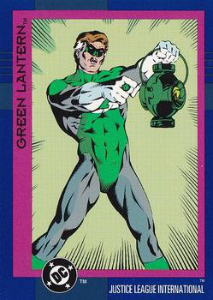 Skybox Cosmic Teams Green Lantern